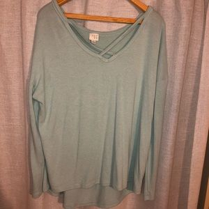 Oversized teal A New Day sweater